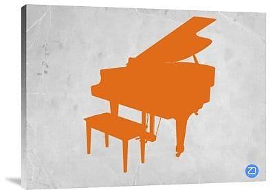 Naxart 'Orange Piano' Graphic Art Print on Canvas; 24'' H x 32'' W x 1.5'' D