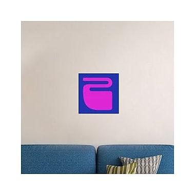 Naxart 'Letter Z Purple' Graphic Art Print on Canvas; 40'' H x 40'' W x 1.5'' D
