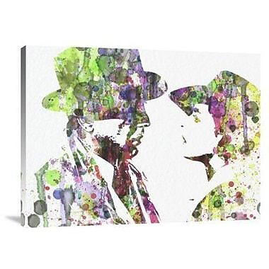 Naxart 'Casablanca 2' Graphic Art Print on Canvas; 30'' H x 40'' W x 1.5'' D