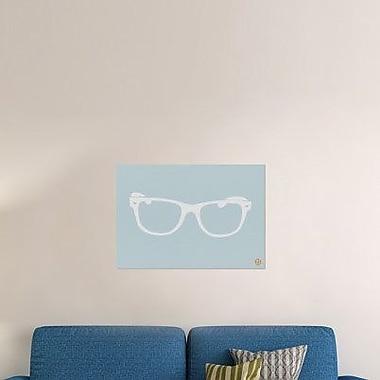 Naxart 'White Glasses' Graphic Art Print on Canvas; 21'' H x 30'' W x 1.5'' D