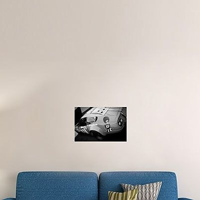 Naxart 'Pit Stop Check' Photographic Print on Canvas; 24'' H x 36'' W x 1.5'' D