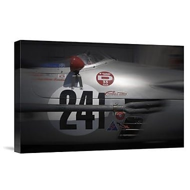 Naxart 'Racing Decal Graphics' Photographic Print on Canvas; 12'' H x 18'' W x 1.5'' D