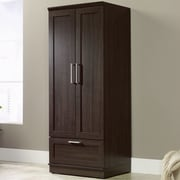 Charlton Home Amboyer Wardrobe Armoire; Dakota Oak