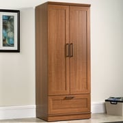 Charlton Home Amboyer Wardrobe Armoire; Sienna Oak