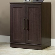 Charlton Home Amboyer 2 Door Storage Cabinet; Dakota Oak