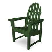 POLYWOOD  Adirondack Casual Chair; Hunter Green
