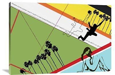 Naxart 'Not Tamed' Graphic Art Print on Canvas; 11'' H x 16'' W x 1.5'' D