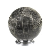 Charlton Home Vaugondy Globe; Black