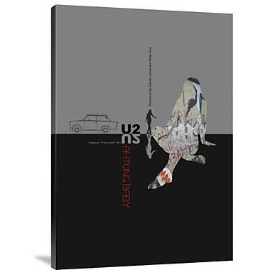 Naxart 'U2' Graphic Art Print on Canvas; 16'' H x 11'' W x 1.5'' D