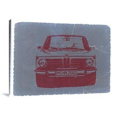 Naxart 'BMW 2002 Front' Graphic Art Print on Canvas; 30'' H x 40'' W x 1.5'' D
