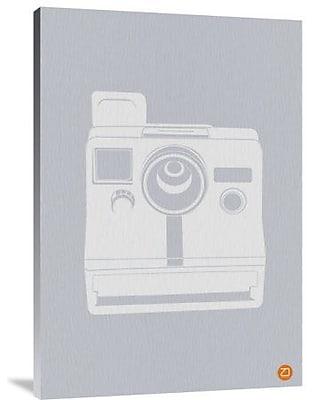 Naxart 'White Polaroid Camera' Graphic Art Print on Canvas; 30'' H x 21'' W x 1.5'' D