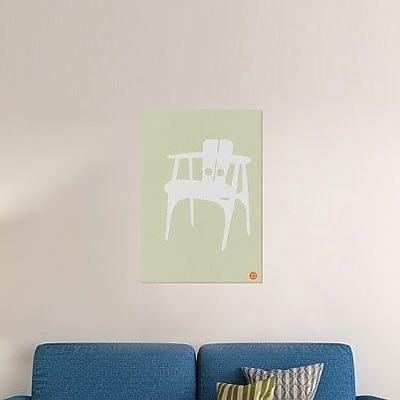 Naxart 'Wooden Chair' Graphic Art Print on Canvas; 22'' H x 15'' W x 1.5'' D