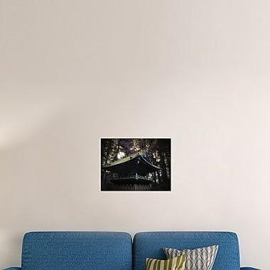 Naxart 'Nikko Architectural Detail' Photographic Print on Canvas; 12'' H x 16'' W x 1.5'' D