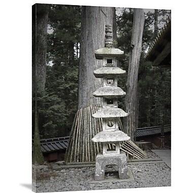 Naxart 'Nikko Temple Details' Photographic Print on Canvas; 24'' H x 18'' W x 1.5'' D