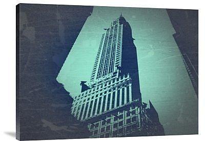 Naxart 'Chrysler Building' Graphic Art Print on Canvas; 30'' H x 40'' W x 1.5'' D