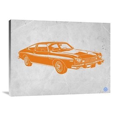 Naxart 'My Favorite Car 13' Graphic Art Print on Canvas; 18'' H x 24'' W x 1.5'' D