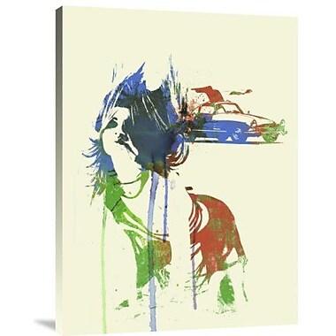 Naxart 'Mercedes Girl' Graphic Art Print on Canvas; 16'' H x 12'' W x 1.5'' D