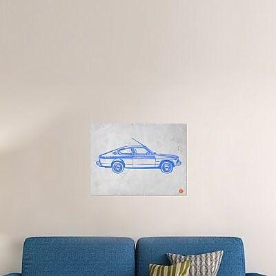 Naxart 'My Favorite Car 17' Graphic Art Print on Canvas; 24'' H x 32'' W x 1.5'' D