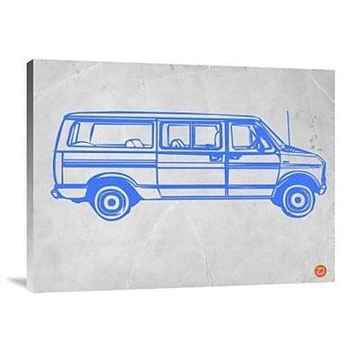 Naxart 'My Favorite Car 18' Graphic Art Print on Canvas; 12'' H x 16'' W x 1.5'' D