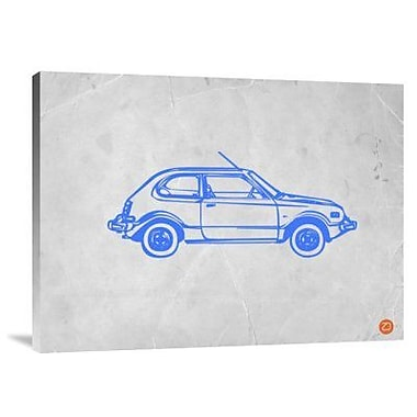 Naxart 'My Favorite Car 21' Graphic Art Print on Canvas; 18'' H x 24'' W x 1.5'' D