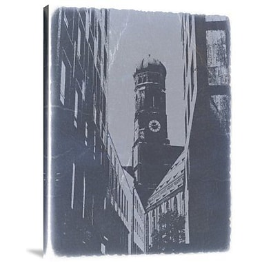 Naxart 'Munich Frauenkirche' Photographic Print on Canvas; 24'' H x 18'' W x 1.5'' D