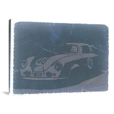 Naxart 'Porsche 356 Coupe Front' Graphic Art Print on Canvas; 18'' H x 24'' W x 1.5'' D