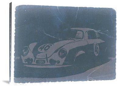 Naxart 'Porsche 356 Coupe Front' Graphic Art Print on Canvas; 30'' H x 40'' W x 1.5'' D