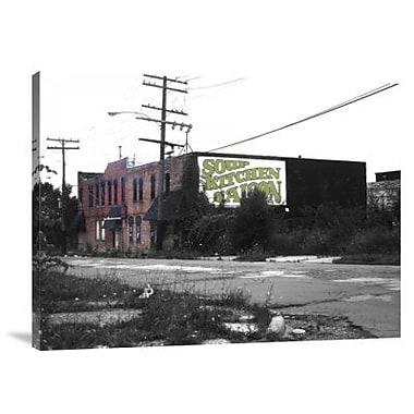 Naxart 'Detroit Soup Kitchen' Photographic Print on Canvas; 30'' H x 40'' W x 1.5'' D