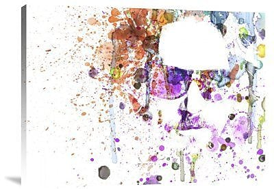 Naxart 'Big Lebowski: Dude' Graphic Art Print on Canvas; 30'' H x 40'' W x 1.5'' D