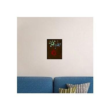 Naxart 'Abstract Splash Theme 6' Graphic Art Print on Canvas; 32'' H x 24'' W x 1.5'' D