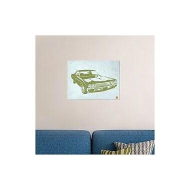 Naxart 'My Favorite Car 5' Graphic Art Print on Canvas; 24'' H x 32'' W x 1.5'' D
