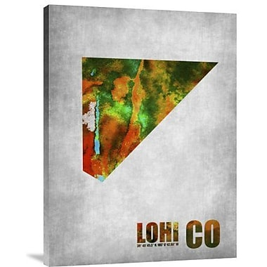 Naxart 'Lohi Colorado' Graphic Art Print on Canvas; 16'' H x 12'' W x 1.5'' D