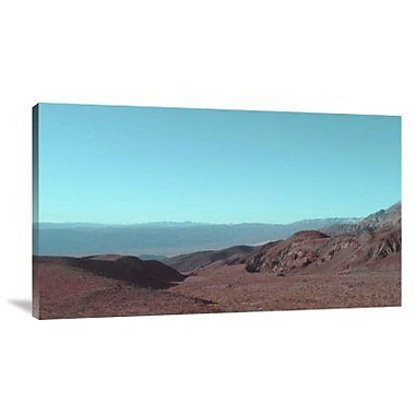 Naxart 'Death Valley View' Photographic Print on Canvas; 23'' H x 40'' W x 1.5'' D