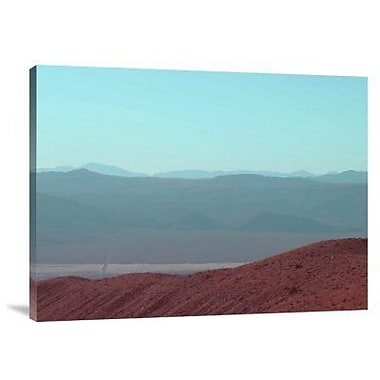 Naxart 'Death Valley View' Photographic Print on Canvas; 18'' H x 24'' W x 1.5'' D