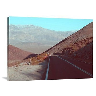 Naxart 'Death Valley Road 3' Photographic Print on Canvas; 24'' H x 32'' W x 1.5'' D