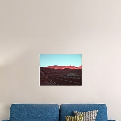 Naxart 'Death Valley Road 4' Photographic Print on Canvas; 24'' H x 32'' W x 1.5'' D