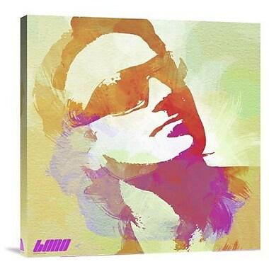 Naxart 'Bono' Graphic Art Print on Canvas; 24'' H x 24'' W x 1.5'' D