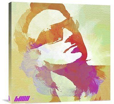 Naxart 'Bono' Graphic Art Print on Canvas; 18'' H x 18'' W x 1.5'' D