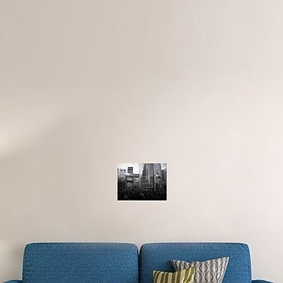 Naxart 'Tokyo Intersection 1' Photographic Print on Canvas; 30'' H x 40'' W x 1.5'' D