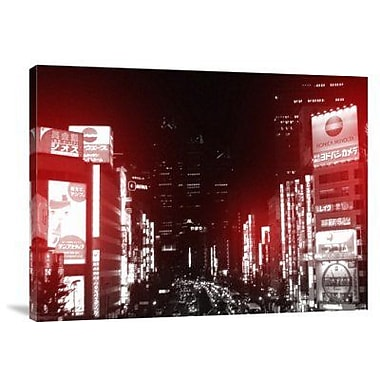 Naxart 'Tokyo Street' Photographic Print on Canvas; 30'' H x 40'' W x 1.5'' D