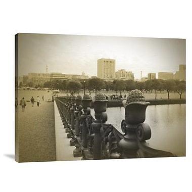 Naxart 'Tokyo Square' Photographic Print on Canvas; 18'' H x 24'' W x 1.5'' D