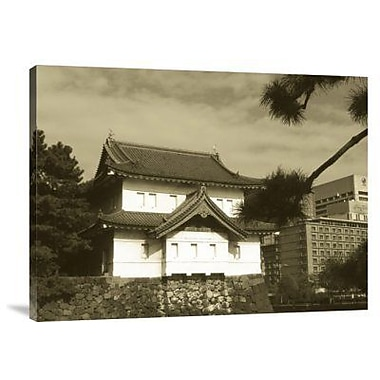 Naxart 'Traditional Building in Tokyo' Photographic Print on Canvas; 12'' H x 16'' W x 1.5'' D