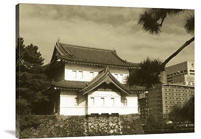 Naxart 'Traditional Building in Tokyo' Photographic Print on Canvas; 24'' H x 32'' W x 1.5'' D