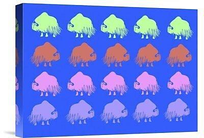 Naxart 'Safari 7' Graphic Art Print on Canvas; 12'' H x 16'' W x 1.5'' D