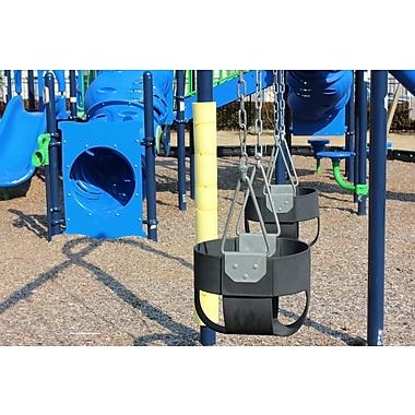 Cardinal Gates Playground Pole Padding; Yellow