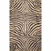 World Menagerie Bowdens Zebra Neutral Rug; 5' x 8'