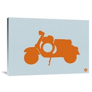 Naxart 'Orange Scooter' Graphic Art Print on Canvas; 28'' H x 40'' W x 1.5'' D