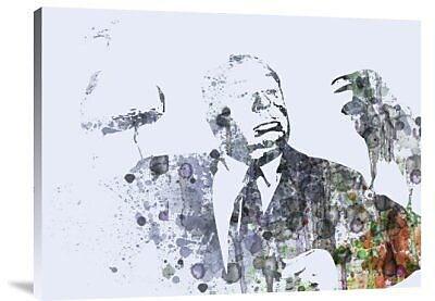 Naxart 'Hitchcock Birds' Graphic Art Print on Canvas; 24'' H x 32'' W x 1.5'' D