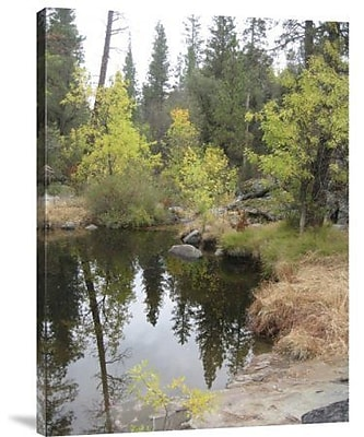 Naxart 'Lake in Sierras' Photographic Print on Canvas; 40'' H x 30'' W x 1.5'' D