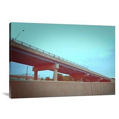 Naxart 'Freeway 2' Photographic Print on Canvas; 21'' H x 30'' W x 1.5'' D